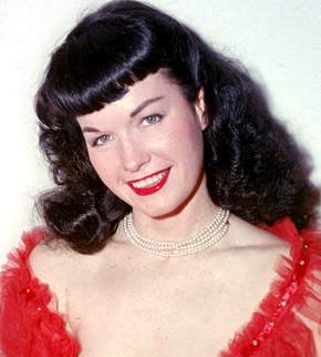 bettie page fotografia