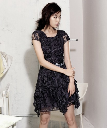 Han Hyo Joo wallpaper possibly containing a cocktail dress, a frock, and a dress entitled hyo joo