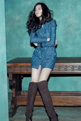 Han Hyo Joo wallpaper with a hip boot titled hyo jooooooooooooooo