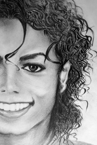 michael's smile in bad era