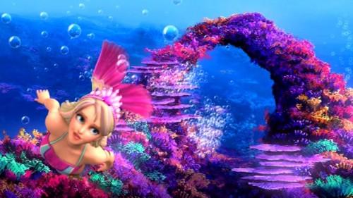 barbie in mermaid tale wallpaper titled princess merliah
