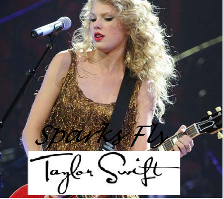 taylor swift sparks fly - taylor-swift Fan Art