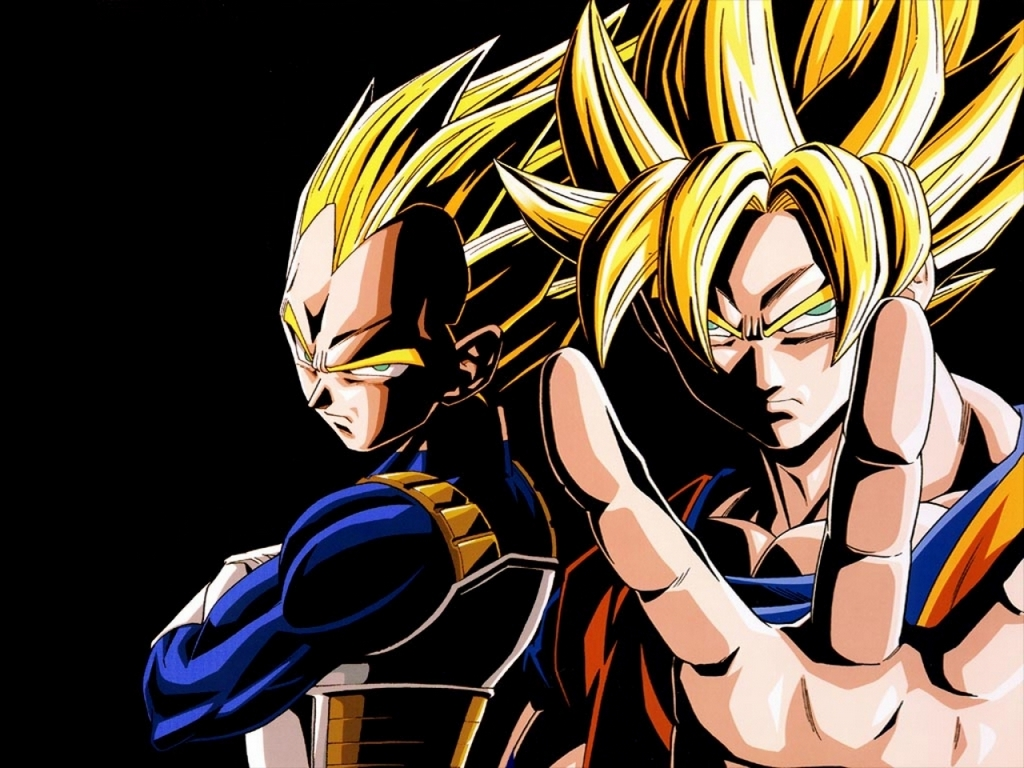 Dragon Ball Z the best team-goku and vegeta