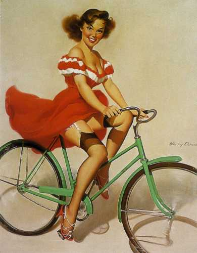 vintage pinup photo - vintage Photo