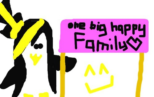 we are all one big happy family! ^^