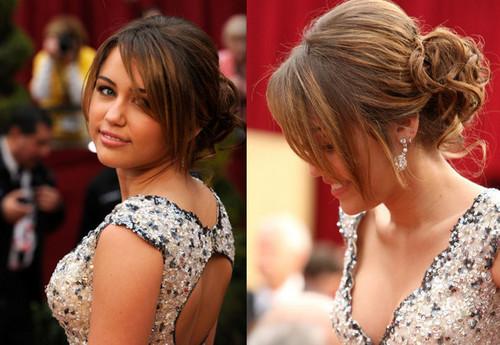 ♥ Miley at Oscars ♥