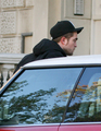 Robert Pattinson In London Today (Nov 19th) - twilight-series photo