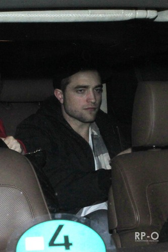 Robert Pattinson Out & About In Berlin (Nov 18