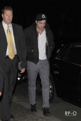 Robert Pattinson Out & About In Berlin (Nov 18th)
