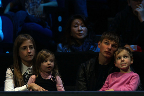 A. Arshavin with his family