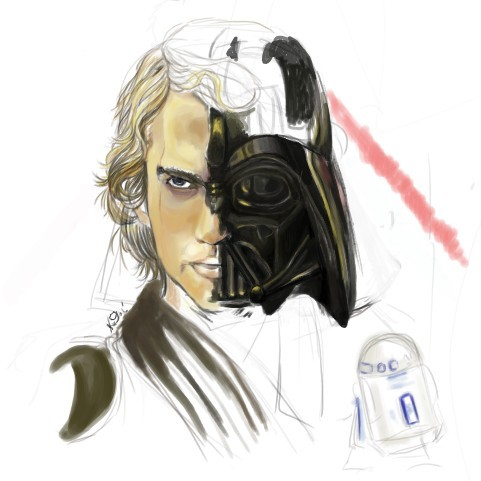 Anakin Vader Sketch
