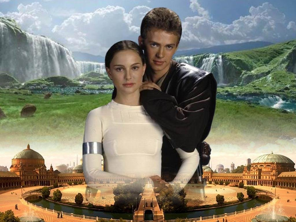 Anakin and Padme, Naboo