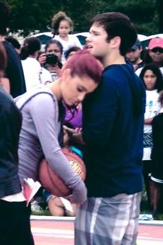 Ariana and Nathan Kress
