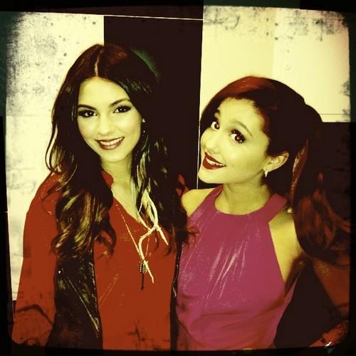 Ariana and Victoria