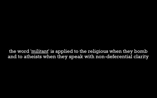 Militant Atheism
