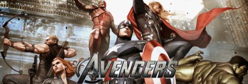 Avengers kertas dinding