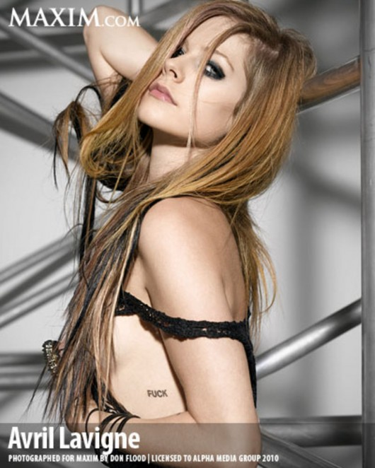 Avril Maxim PhotoShoot