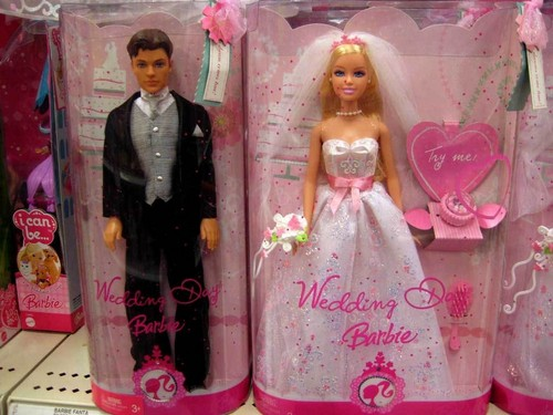 Barbie Bride & Ken Groom - barbie Wallpaper