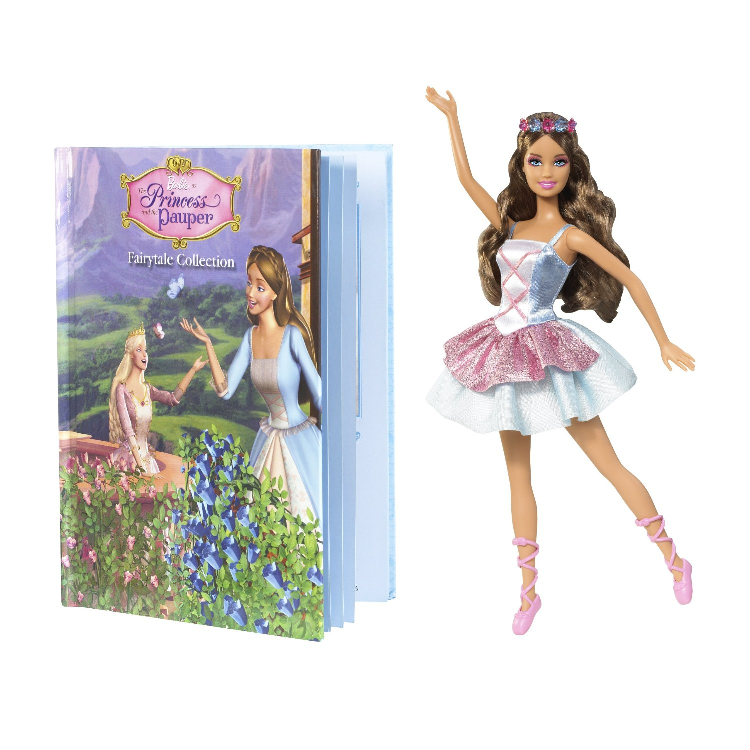 Barbie as the Princess and The Pauper: Erika doll and Book Giftset