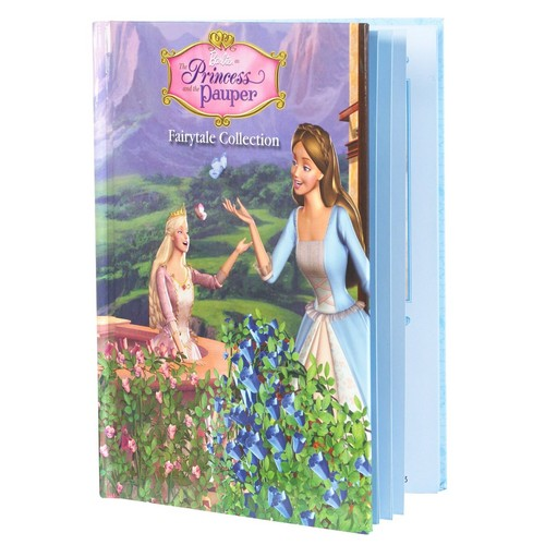 バービー as the Princess and The Pauper: Erika doll and Book Giftset