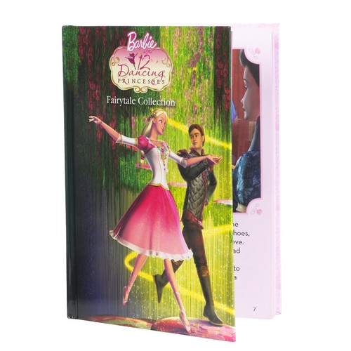 Barbie in the 12 Dancing Princesses: Genevieve Doll and Book Giftset