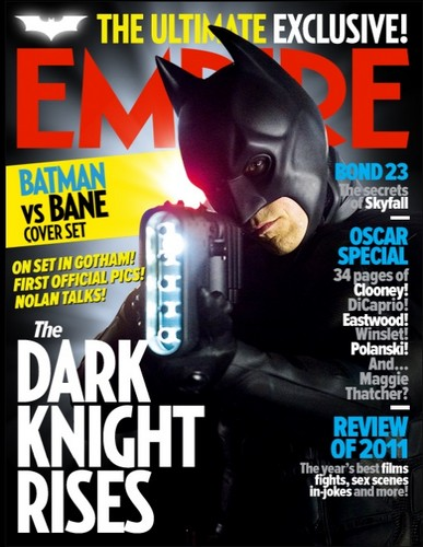 Batman on the Cover of Empire Magazine