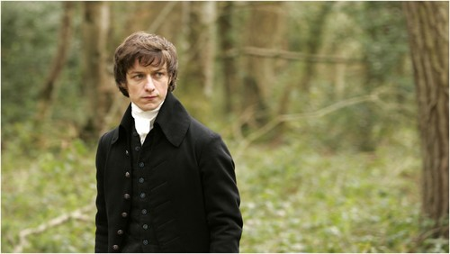 Becoming Jane Hintergrund containing a business suit, a well dressed person, and a suit entitled Becoming Jane