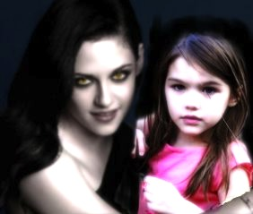 Bella and Renesmee