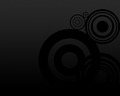 Black Circles Wallpaper - black wallpaper