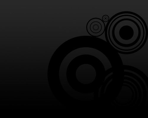 Black Circles Wallpaper