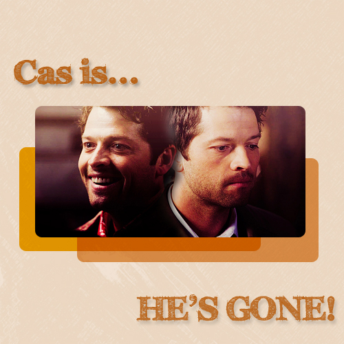 Castiel wallpaper called Cas Is Gone