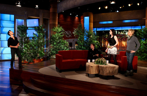 Cast Breaking Dawn en The Ellen প্রদর্শনী