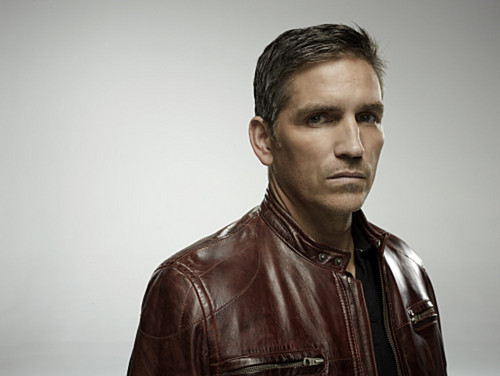 John Reese wallpaper probably containing a well dressed person, an outerwear, and a blouse entitled Cast - Promotional Photo - Jim Caviezel