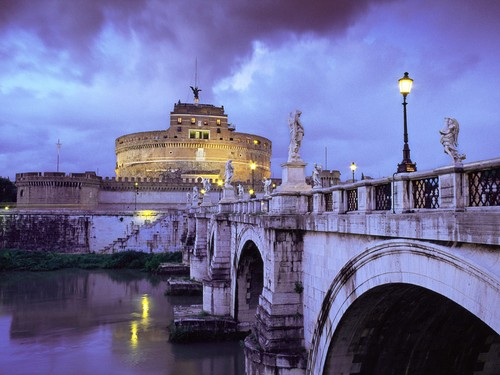 Castel Sant_Angelo - italy Wallpaper