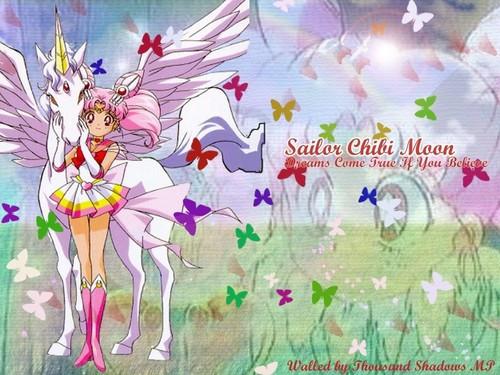 Chibi-Usa and Helios