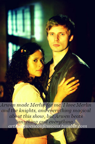 Confession: Arthur and Guinevere
