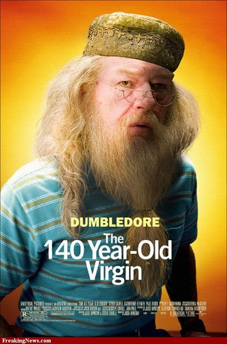 DUMBLEDORE THE 40 YR OLD VIRGIN
