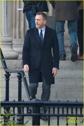 Daniel Craig: 'Skyfall' in Trafalgar Square!