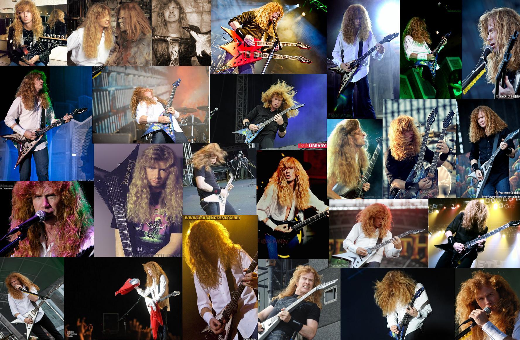 Dave Mustaine fondo de pantalla