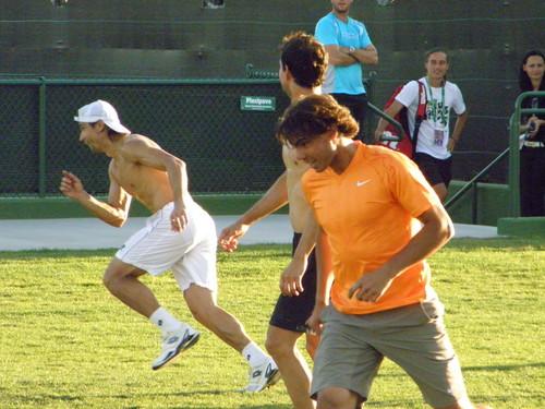 David Ferrer नितंब, गधा and Rafa Nadal