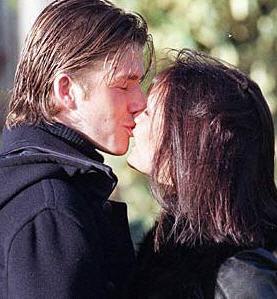 David baciare with Victoria