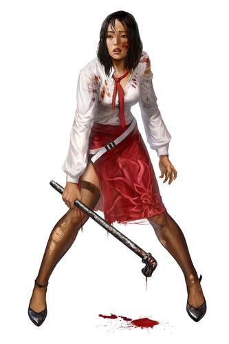 Dead Island Machete Girl