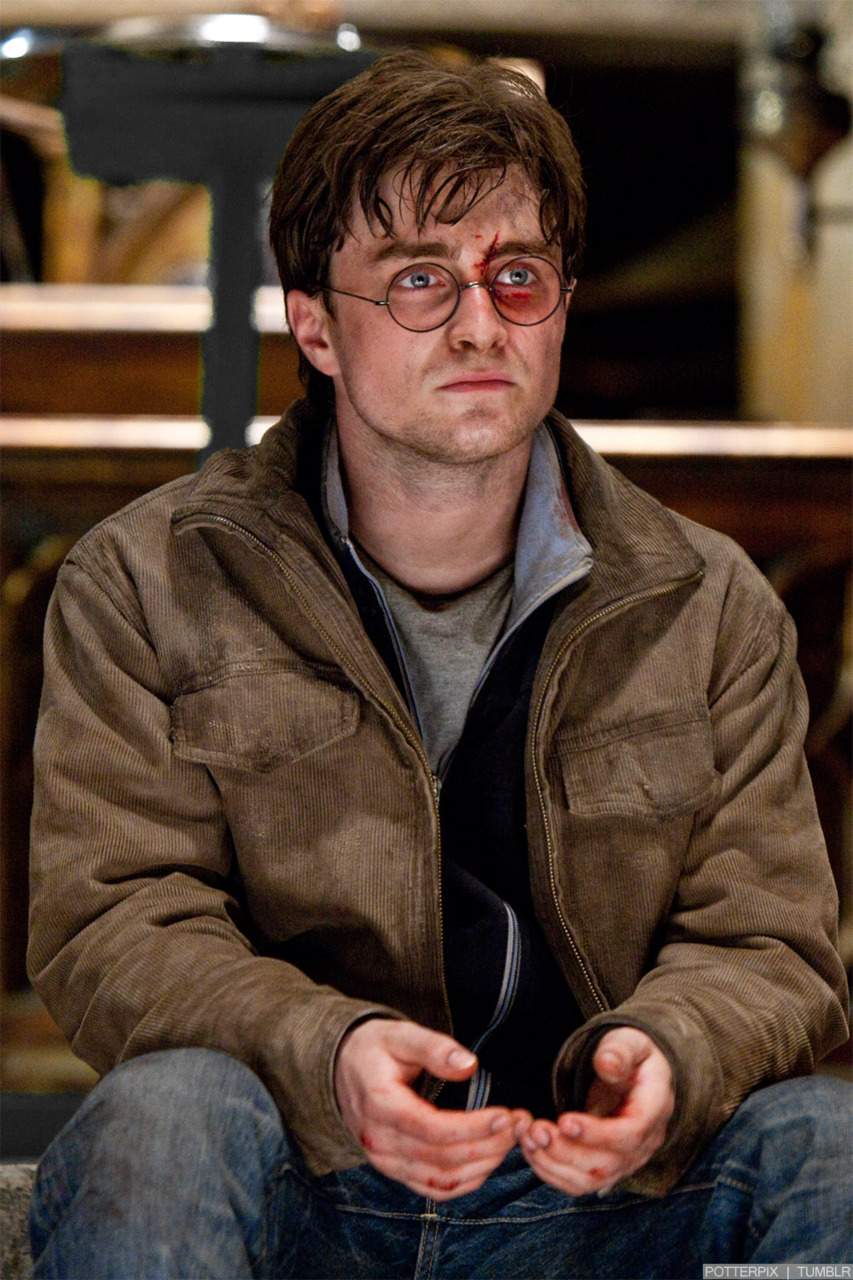 Daniel Radcliffe Harry Potter And The Deathly Hallows Part 2 Harry Potter Deathly Hallows