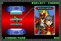 Digimon Battle Spirit 2 -  Rising Sun/character selections - digimon-frontier screencap