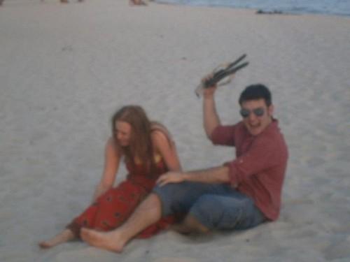 Emmet and Rebecca in Florida