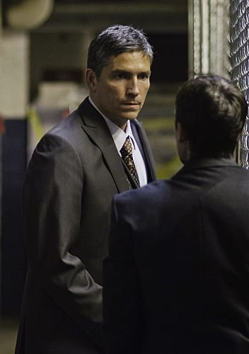 John Reese wallpaper with a business suit, a suit, and a three piece suit titled Episode 1.03 'Mission Creep' Promotional Photos