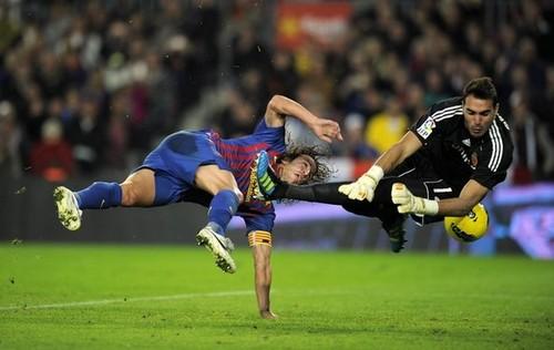 FC Barcelona (4) v Real Zaragoza (0) - La Liga