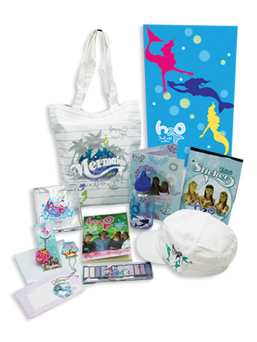 H2O mostrar Bag Items