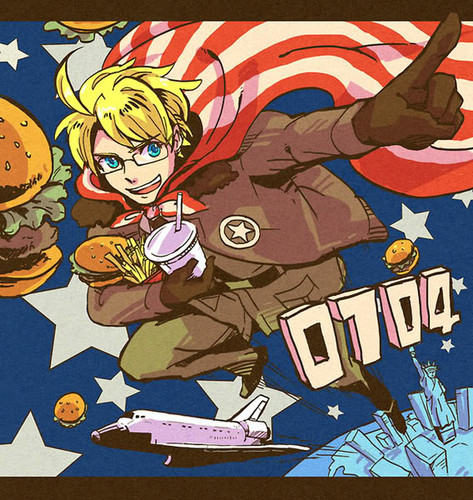 HAMBURGER POWER!