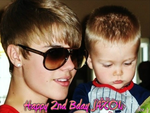Happy Birthday Jaxon..Beliebers amor you.xxx